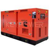 100kVA Hauptzylinder-leiser Typ Diesel-Generator der energien-sechs
