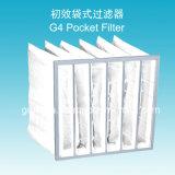 Filter van de Luchtzak van de Stof van de Efficiency van 35% G4 de Niet-geweven