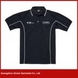 Camice di sport su ordine del cotone di buona qualità per gli uomini (P22)