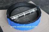 Valvola di ritenuta doppia della cialda del piatto del rivestimento di gomma (H77X-10/16)