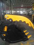 piezas de repuesto maquinaria de construcción hidráulica miniexcavadora coge la cuchara