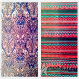 Ткань 100% подкладки жаккарда пряжи полиэфира Canxing покрашенная для крышки украшает