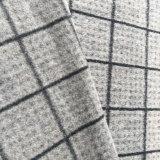 Noir et Blanc cochée pour un tissu de laine du Vêtement en bonneterie Vêtements d'hiver du tissu