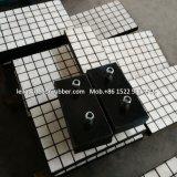 Chute de la plaque d'usure en caoutchouc en céramique pour offrir la protection de l'usure