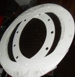 La junta de PTFE puro de lámina de PTFE en el sello Industrial