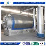 Sistema di olio di riciclaggio di gomma residuo di alti livelli