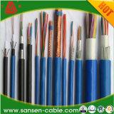Cabo creativo isolado XLPE/PVC padrão da corrente eléctrica de Kvv Kvvp do cabo de controle do volume 450/750V do Ce