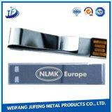 Placa del cinc de la fabricación de la hoja del OEM que estampa el clip de papel del metal para las piezas de automóvil del coche