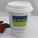 A buon mercato togliere la tazza di carta dell'ondulazione del caffè biodegradabile della parete