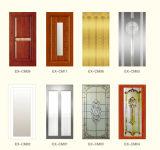 Type en verre ascenseur de porte d'oscillation de maison