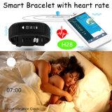 """0.86 """" 심박수 모니터 (H28)를 가진 인치 OLED 지능적인 팔찌"""