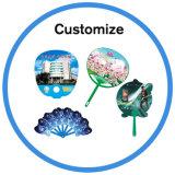 Ventilador de mão personalizado PP PVC