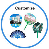 Ventilador do lado de PVC PP personalizada