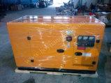 Генератор 24kw молчком двигателя дизеля портативный