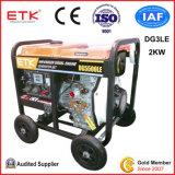 gruppo elettrogeno diesel di tensione Rated 240/120V (2KW)