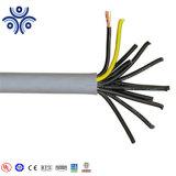 12 coeurs de 1,5mm2 Conducteur en cuivre flexible isolant en PVC et gaine en PVC le câble de commande Hot Sale
