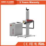 20W 30Wのアルミニウム及びプラスチックコンデンサーのレーザープリンターによる印刷のマーキング機械