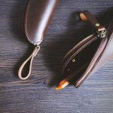 Sac cadeau promotionnel Crayon Crayon Crazy Horse cuir vintage cas