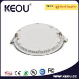 Panneau DEL 12W 18W 6500k rond DEL Downlight de l'usine ISO9001