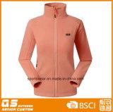 Куртка цветастой микро- ватки женщин мягкая