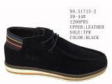 No 51715 ботинки большое Quanlity кожи ботинок людей вскользь