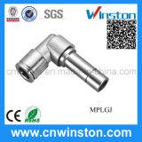Metallo Tube Pneumatic Plug in Fitting con CE
