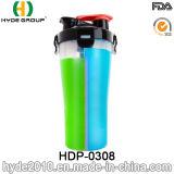 700ml 2017 sin BPA de polvo de la botella de plástico de agitador, Personalizado proteína PP vaso mezclador (HDP-0308)