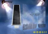Luzes completas do jardim da energia solar de controle inteligente com painel de Sunpower