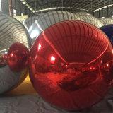 Aufblasbare Kugel-aufblasbare Spiegel-Kugel für das Bekanntmachen/verziert