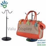 Cremagliera d'attaccatura del banco di mostra del sacchetto della borsa su ordinazione della visualizzazione, cremagliera di visualizzazione per le borse