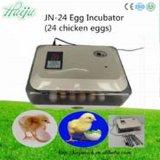 24의 계란 세륨 승인되는 자동적인 계란 부화기를 붙들기