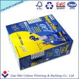 Gedruckte Farben-Papierverpackenkästen