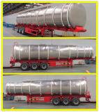 タンザニアのための頑丈な半三車軸6コンパートメントオイルタンクのトレーラー42000litersの燃料タンクのトレーラー