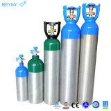 의학 휴대용 알루미늄 소형 산소 실린더 가격 10 리터 산소 실린더
