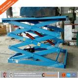 Idraulici stazionari Scissor la Tabella di elevatore per uso speciale, la fase di sollevamento, piattaforme di sollevamento di autorotazione
