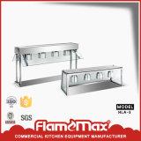 Réchauffeur de dessus de banc de buffet de Hlb-3 3-Lamp