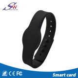Bracelete feito sob encomenda do silicone RFID para o centro da ginástica