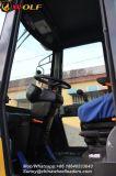 carregador da roda 2t com acessório de Mulcher