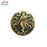 販売のためのカスタマイズされた旧式な金の戦士パターンプルーフコイン