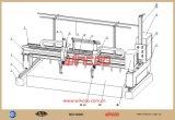 Riga d'acciaio di montaggio della macchina d'acciaio di montaggio della tagliatrice del Oxy-Combustibile di CNC
