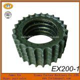 Pièces de rechange de couronne d'entraînement de l'excavatrice Ex300 Ex400 de Hitachi