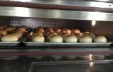 Horno eléctrico de la panadería del equipo 3 de la bandeja industrial/profesional/lujosa de la cubierta 9