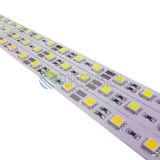 Tira rígida 5050 60LEDs/M 14.4W do diodo emissor de luz que escurecem a sustentação para a iluminação