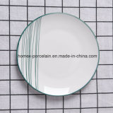 L'ouest de la vaisselle en porcelaine de conception populaire défini pour le ménage