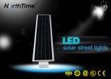 動きセンサーの光量制御を用いるオールインワンLEDの太陽街灯