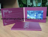 tarjetas de felicitación video LCD de la pantalla de encargo de 7inch de China