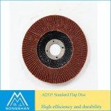 Disco abrasivo della falda della granulosità 40# 60# 80# 120#a/O della Cina 100*16mm