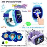 방수 아이 접촉 스크린 D25를 가진 지능적인 GPS 추적자 시계