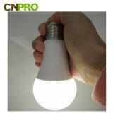 Qualidade superior 5W E27 Lâmpada LED de emergência recarregável