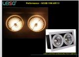 Proyector del reflector 15W G53 LED del competidor de Megaman AR111